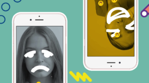 Muestra tus emociones con nuestros filtros.